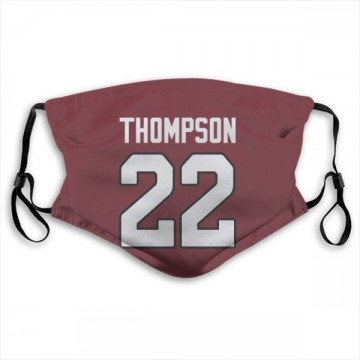 Arizona Cardinals Deionte Thompson Red Jersey Name & Number Face Mask