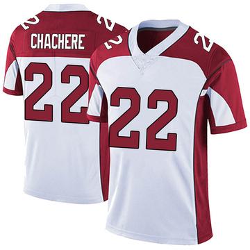 Men's Nike Arizona Cardinals Andre Chachere White Vapor Untouchable Jersey - Limited
