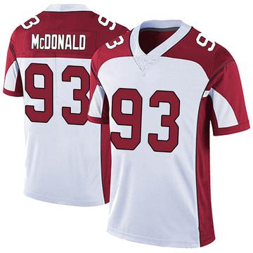 Men's Nike Arizona Cardinals Clinton McDonald White Vapor Untouchable Jersey - Limited