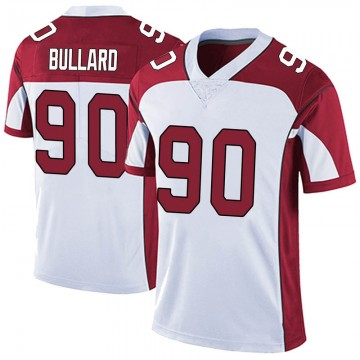 Men's Nike Arizona Cardinals Jonathan Bullard White Vapor Untouchable Jersey - Limited