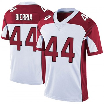 Men's Nike Arizona Cardinals Keishawn Bierria White Vapor Untouchable Jersey - Limited