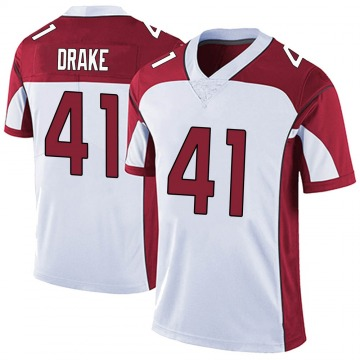 Men's Nike Arizona Cardinals Kenyan Drake White Vapor Untouchable Jersey - Limited