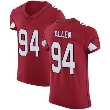 Men's Arizona Cardinals Zach Allen Red Team Color Vapor Untouchable Jersey - Elite