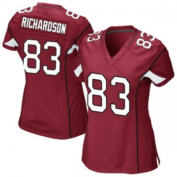 Women's Nike Arizona Cardinals A.J. Richardson Cardinal Team Color Jersey - Game