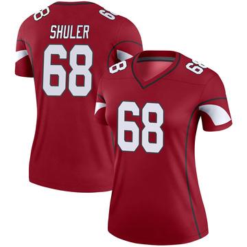 Women's Nike Arizona Cardinals Adam Shuler Cardinal Jersey - Legend