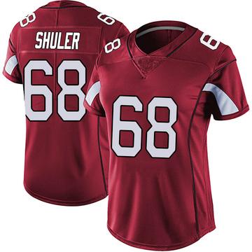 Women's Nike Arizona Cardinals Adam Shuler Red Vapor Team Color Untouchable Jersey - Limited