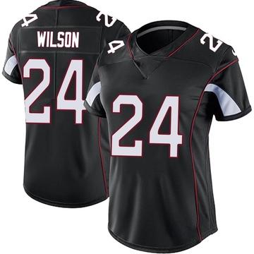 Women's Nike Arizona Cardinals Adrian Wilson Black Vapor Untouchable Jersey - Limited