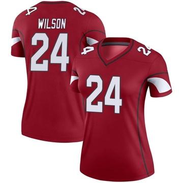 Women's Nike Arizona Cardinals Adrian Wilson Cardinal Jersey - Legend