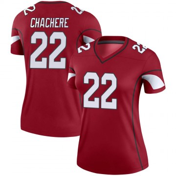 Women's Nike Arizona Cardinals Andre Chachere Cardinal Jersey - Legend
