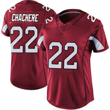 Women's Nike Arizona Cardinals Andre Chachere Red Vapor Team Color Untouchable Jersey - Limited