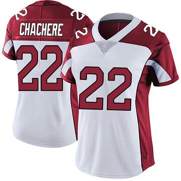 Women's Nike Arizona Cardinals Andre Chachere White Vapor Untouchable Jersey - Limited