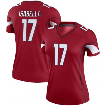 Women's Nike Arizona Cardinals Andy Isabella Cardinal Jersey - Legend