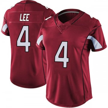 Women's Nike Arizona Cardinals Andy Lee Red Vapor Team Color Untouchable Jersey - Limited