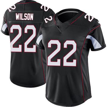 Women's Nike Arizona Cardinals Bejour Wilson Black Vapor Untouchable Jersey - Limited