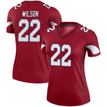 Women's Nike Arizona Cardinals Bejour Wilson Cardinal Jersey - Legend