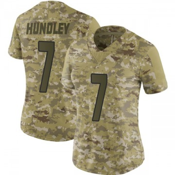Women's Nike Arizona Cardinals Brett Hundley Camo 2018 Salute to Service Jersey - Limited