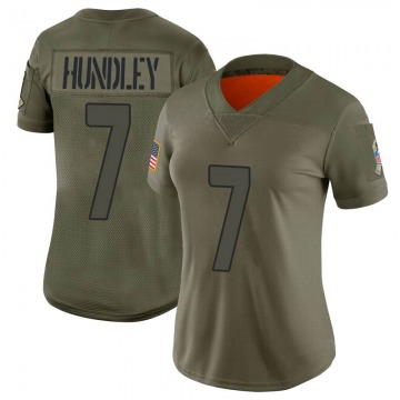 Women's Nike Arizona Cardinals Brett Hundley Camo 2019 Salute to Service Jersey - Limited