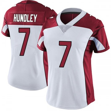 Women's Nike Arizona Cardinals Brett Hundley White Vapor Untouchable Jersey - Limited