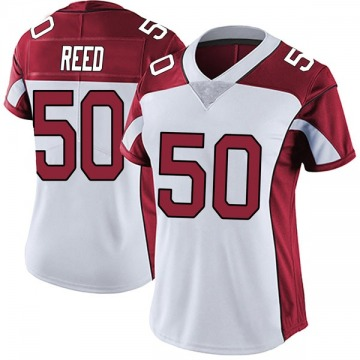 Women's Nike Arizona Cardinals Brooks Reed White Vapor Untouchable Jersey - Limited
