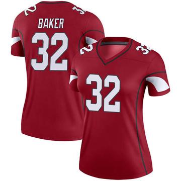 Women's Nike Arizona Cardinals Budda Baker Cardinal Jersey - Legend