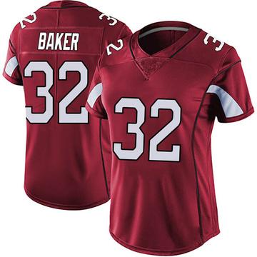 Women's Nike Arizona Cardinals Budda Baker Red Vapor Team Color Untouchable Jersey - Limited