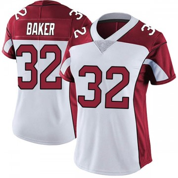 Women's Nike Arizona Cardinals Budda Baker White Vapor Untouchable Jersey - Limited
