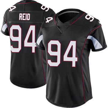 Women's Nike Arizona Cardinals Caraun Reid Black Vapor Untouchable Jersey - Limited