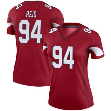 Women's Nike Arizona Cardinals Caraun Reid Cardinal Jersey - Legend