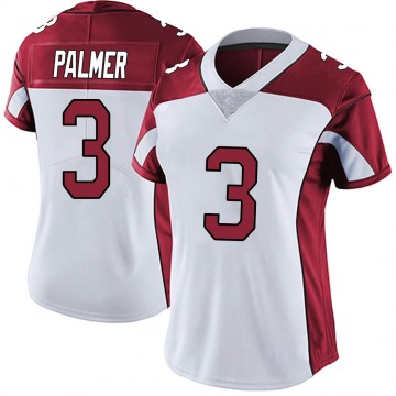 Women's Nike Arizona Cardinals Carson Palmer White Vapor Untouchable Jersey - Limited
