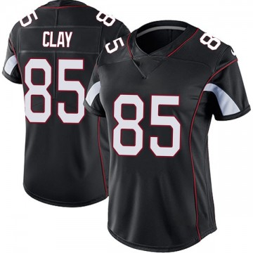 Women's Nike Arizona Cardinals Charles Clay Black Vapor Untouchable Jersey - Limited