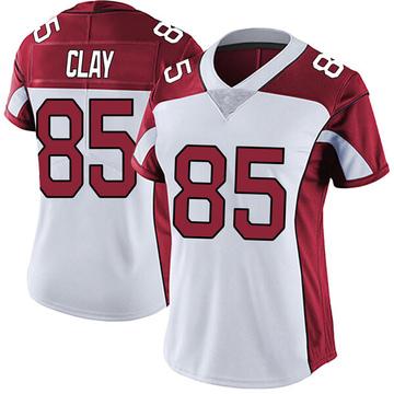 Women's Nike Arizona Cardinals Charles Clay White Vapor Untouchable Jersey - Limited