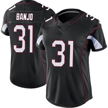 Women's Nike Arizona Cardinals Chris Banjo Black Vapor Untouchable Jersey - Limited