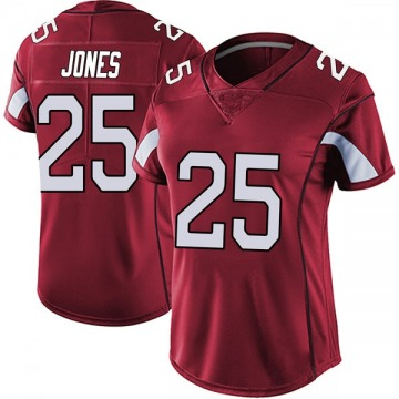 Women's Nike Arizona Cardinals Chris Jones Red Vapor Team Color Untouchable Jersey - Limited