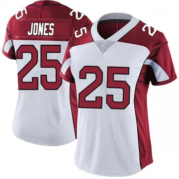 Women's Nike Arizona Cardinals Chris Jones White Vapor Untouchable Jersey - Limited
