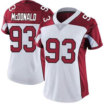 Women's Nike Arizona Cardinals Clinton McDonald White Vapor Untouchable Jersey - Limited