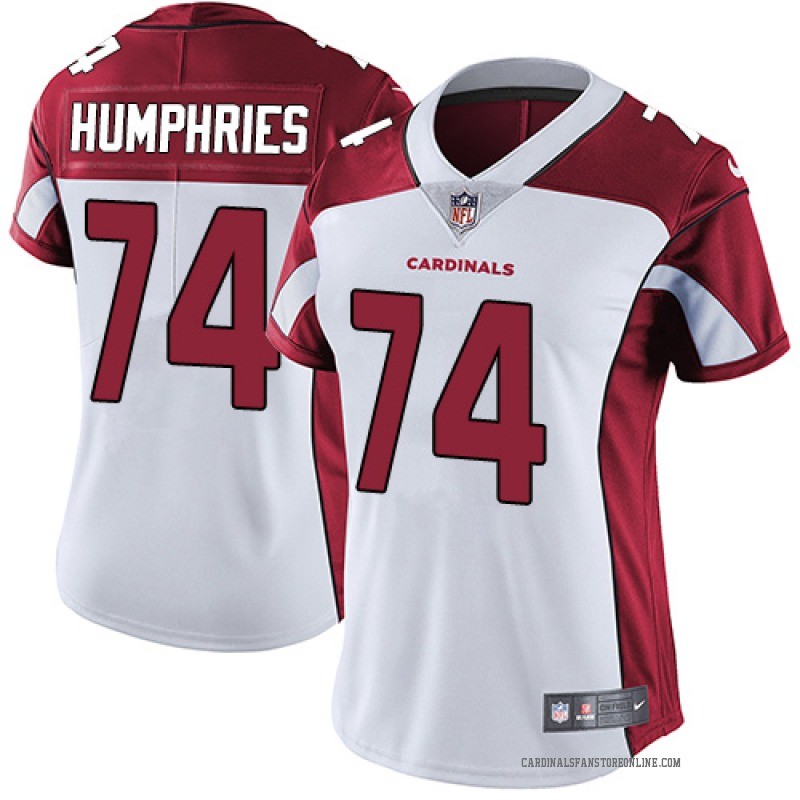 reputable site d5db7 b1785 Women's Nike Arizona Cardinals D.J. Humphries White Jersey - Limited