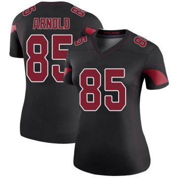 Women's Nike Arizona Cardinals Dan Arnold Black Color Rush Jersey - Legend