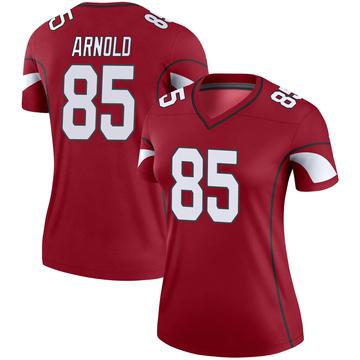 Women's Nike Arizona Cardinals Dan Arnold Cardinal Jersey - Legend