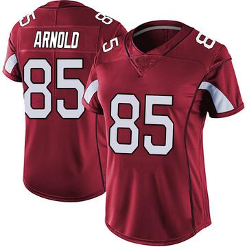 Women's Nike Arizona Cardinals Dan Arnold Red Vapor Team Color Untouchable Jersey - Limited