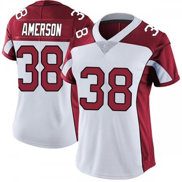 Women's Nike Arizona Cardinals David Amerson White Vapor Untouchable Jersey - Limited