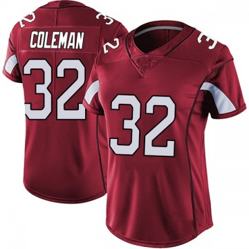 Women's Nike Arizona Cardinals Derrick Coleman Red Vapor Team Color Untouchable Jersey - Limited