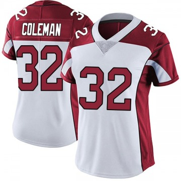 Women's Nike Arizona Cardinals Derrick Coleman White Vapor Untouchable Jersey - Limited
