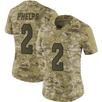 Women's Nike Arizona Cardinals Devin Phelps Camo 2018 Salute to Service Jersey - Limited