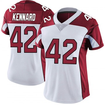 Women's Nike Arizona Cardinals Devon Kennard White Vapor Untouchable Jersey - Limited