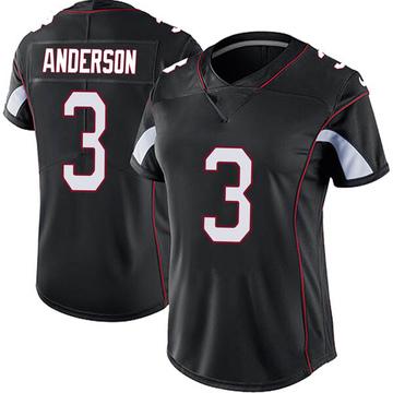 Women's Nike Arizona Cardinals Drew Anderson Black Vapor Untouchable Jersey - Limited