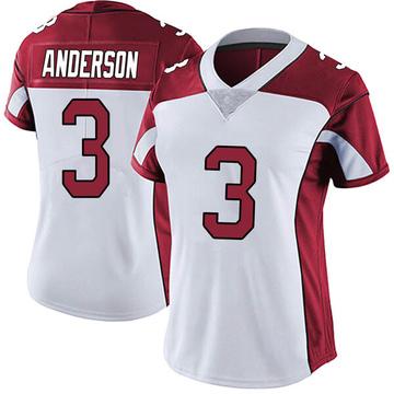 Women's Nike Arizona Cardinals Drew Anderson White Vapor Untouchable Jersey - Limited