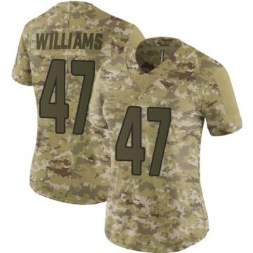 Women's Nike Arizona Cardinals Drew Williams Camo 2018 Salute to Service Jersey - Limited