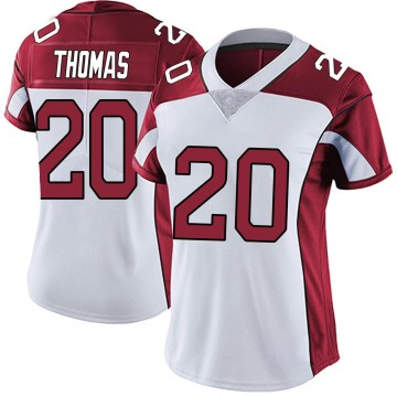 Women's Nike Arizona Cardinals Duke Thomas White Vapor Untouchable Jersey - Limited