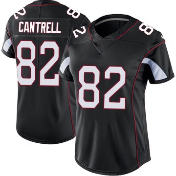 Women's Nike Arizona Cardinals Dylan Cantrell Black Vapor Untouchable Jersey - Limited
