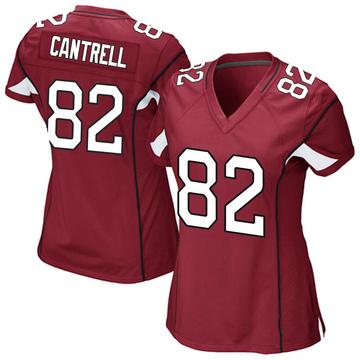 Women's Nike Arizona Cardinals Dylan Cantrell Cardinal Team Color Jersey - Game